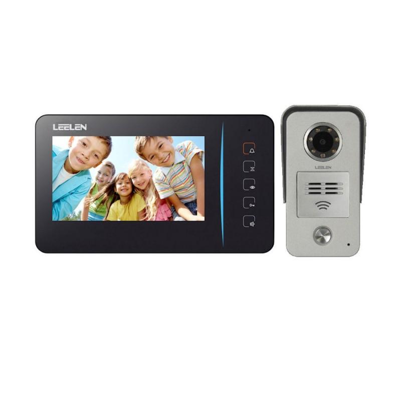 LeelenVideointerfon Leelen N60 negru, camera Nr.15 + ID