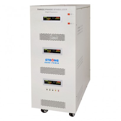 Strong Euro PowerStabilizator tensiune cu servomotor Strong 100KVA 242V-520V trifazic