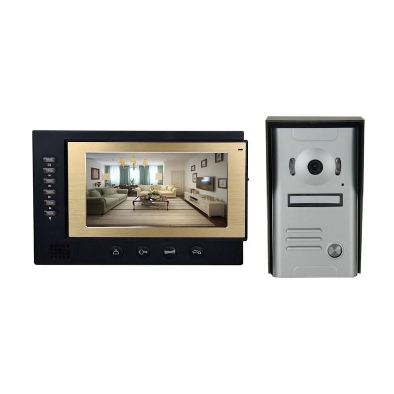 "Videointerfon color 7"" cu inregistrare Tongwei DP-701R"