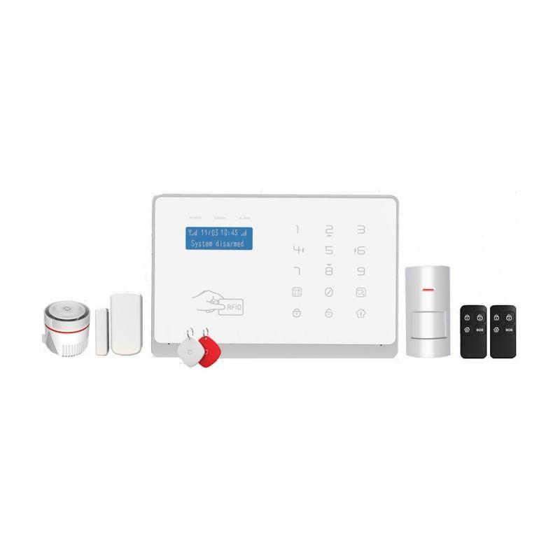 Wolf-GuardWolf-Guard YL-007WM2FX Sistem de Alarma Wireless WiFi / GSM