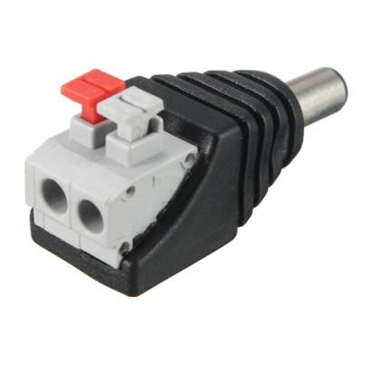 Conector de alimentare tata, 12V, cu terminal rapid SDC-KAT