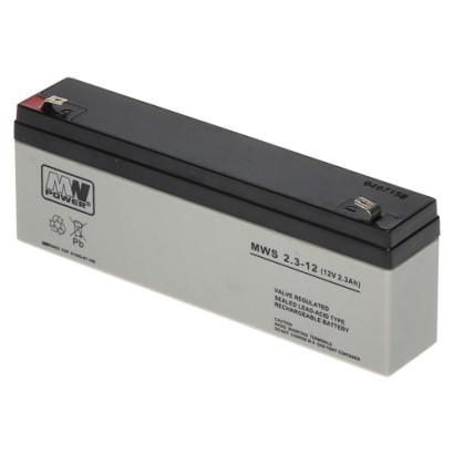 Acumulator 12V, 2.3Ah - MWS MWS12-2.3