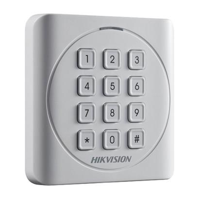 Cititor de proximitate RFID MIFARE 13.56Mhz cu tastatura integrata -HIKVISION DS-K1801MK