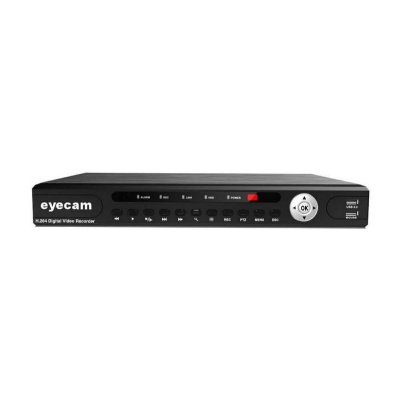 EyecamDVR 16 Canale Pentabrid 5 in 1 XVR 1080N 5MP Eyecam EC-XVR4107