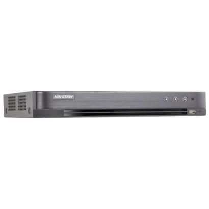 DVR 4K, 4 ch. video 8MP, 4 ch. audio - HIKVISION DS-7204HTHI-K1