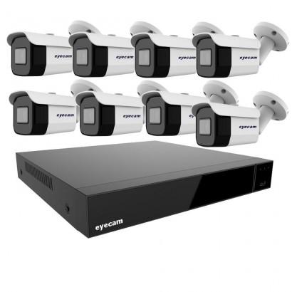 Sistem Supraveghere Video Exterior 8 Camere 30M 2MP