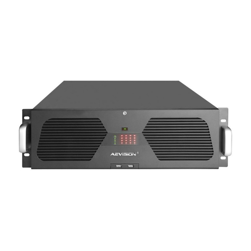 AEVISIONNVR 128 Canale 4K/5MP/3/MP/2MP Aevision AE-N9001-128EX