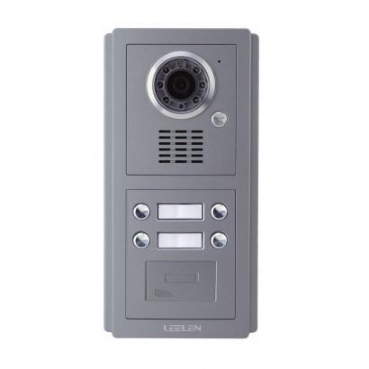Post Exterior Videointerfon IP Leelen No. 8 cu cititor de card
