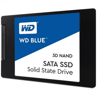 """SSD WD Blue (2.5"""", 500GB, SATA III 6 Gb/s, 3D NAND Read/Write: 560 / 530 MB/sec, Random Read/Write IOPS 95K/84K)"""