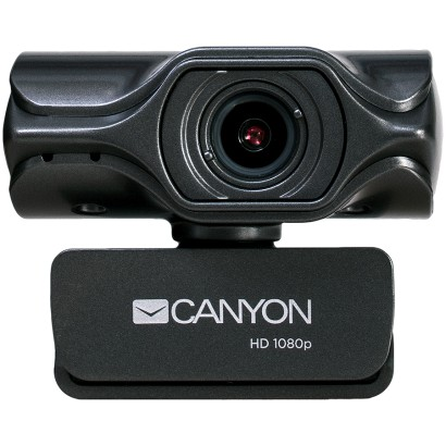 CANYON 2k Ultra full HD 3.2Mega webcam with USB2.0 connector, built-in MIC, Manual focus, IC SN5262, Sensor Aptina 0330, viewing