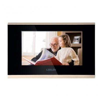 Videointerfon IP LEELEN 4 familii cu cititor de card