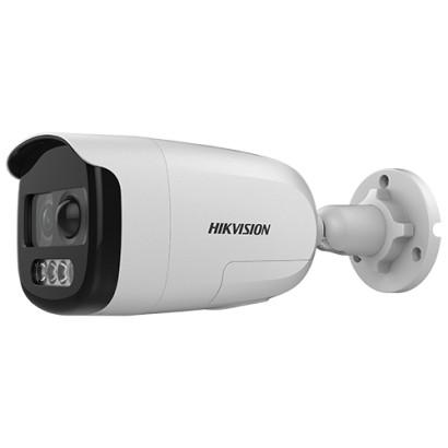 ColorVU - Camera AnalogHD 2MP cu PIR, lentila 2.8mm, Lumina alba 40 m - HIKVISION DS-2CE12DFT-PIRXOF28