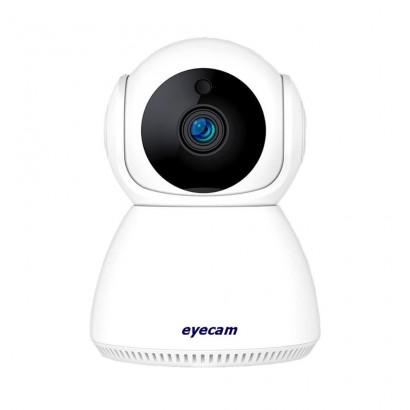 Camera IP Wireless Eyecam 2MP Audio Slot Card Pan/Tilt