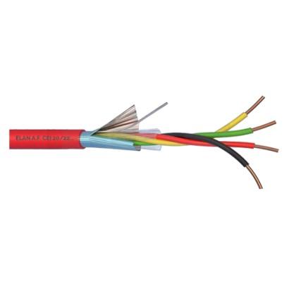 Cablu de incendiu 2x2x0.8mm, ecranat, 100m ELN-2x2x08