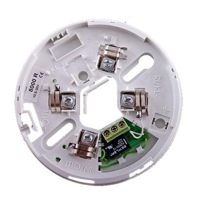 Soclu cu releu pentru detectorii conventionali din seria FD80xx - UNIPOS DB8000R