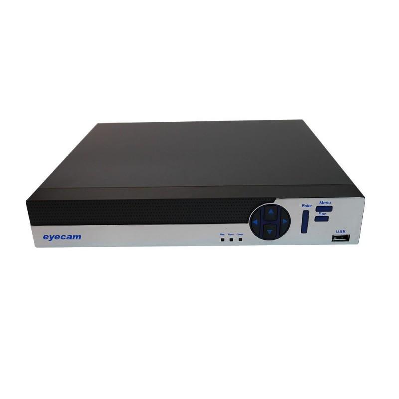 DVR 8 Canale Pentabrid 5 in 1 XVR 1080P 4MP Eyecam EC-XVR8002