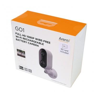 Camera Supraveghere Wireless de Exterior cu Baterie Card 32GB full HD 1080P Laxihub G01