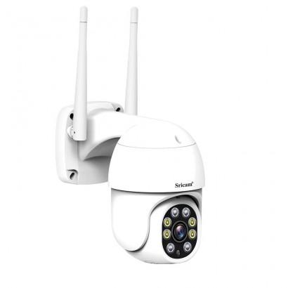 Camera Supraveghere Wireless PTZ Full HD AI Full-color Sricam SP028