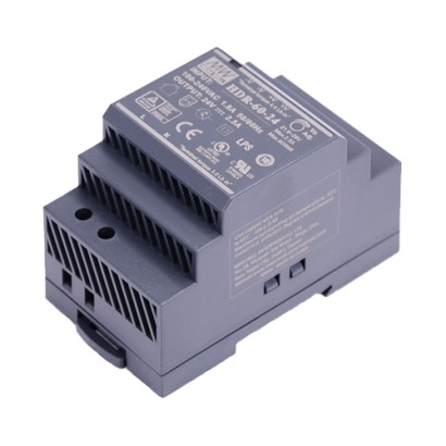 Sursa alimentare 24V/60W, montaj sina DIN - HIKVISION DS-KAW60-2N