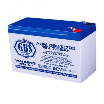 BATERIE AGM GBS12705F1 12V 7.05Ah