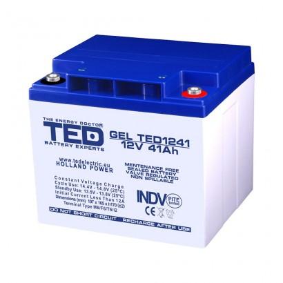 BATERIE GEL TED1241M6 12V 41Ah