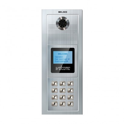 MelseePOST EXTERIOR VIDEOINTERFON COD ACCES MELSEE MS317C