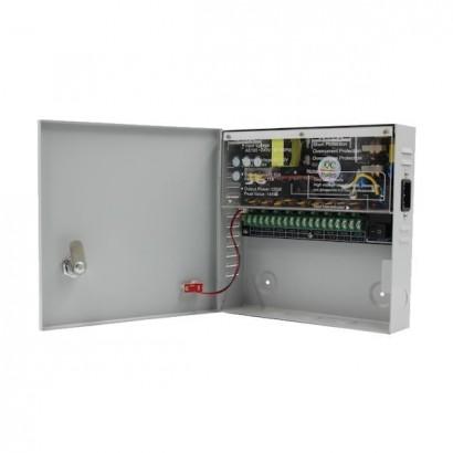 Sursa alimentare CCTV 12V 10A 9 iesiri STR1210-09C