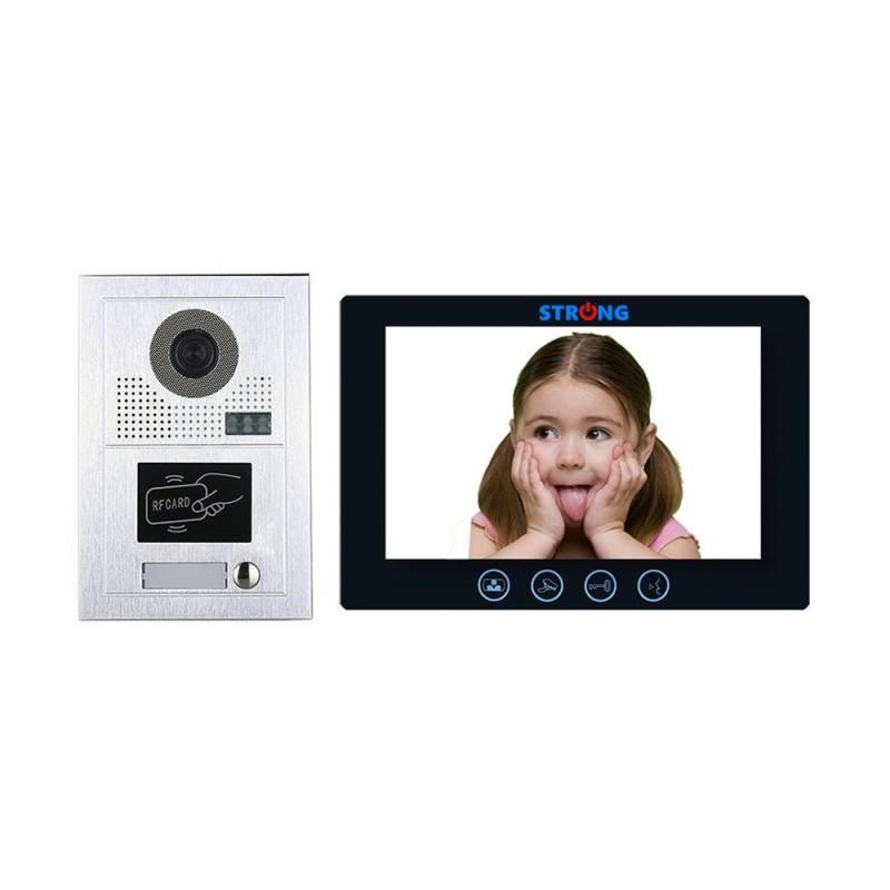 """VIDEOINTERFON IP CU CITITOR DE CARD 10"""" STRONG-15"""