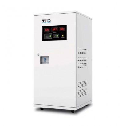 Stabilizatoare de tensiune Stabilizator de tensiune cu servomotor 20KVA TED