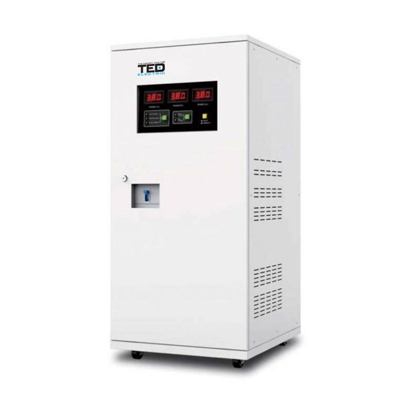 Stabilizatoare de tensiune Stabilizator de tensiune cu servomotor 30KVA TED
