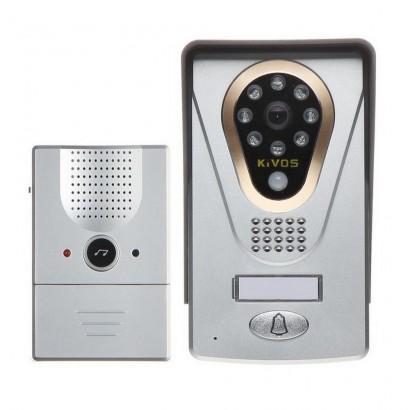 Videointerfon wireless TCP/IP Kivos KDB400 cu deschidere de pe telefonul mobil