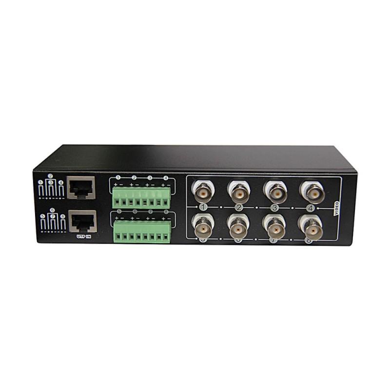 Folksafe Video balun Pasiv 8 canale HD - AHD, HDCVI, HDTVI FS-HDP4608