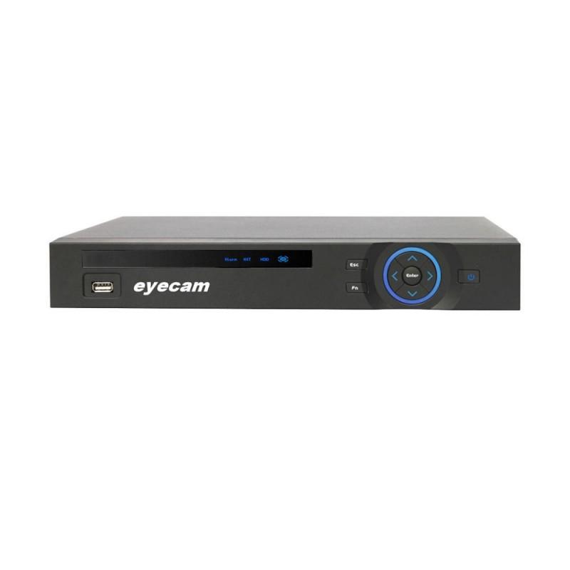 EyecamDVR HDCVI Tribrid 720P 8 canale Eyecam EC-CVR3105