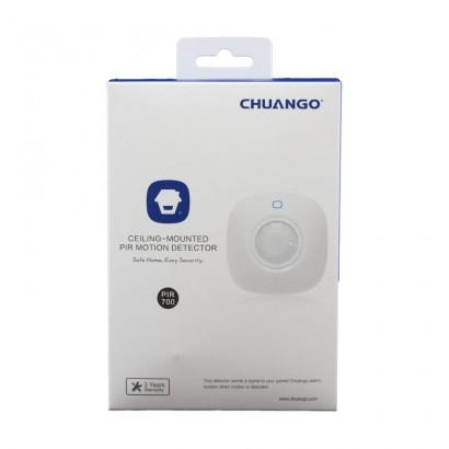 ChuangoChuango senzor PIR de miscare wireless cu montare pe tavan PIR-700