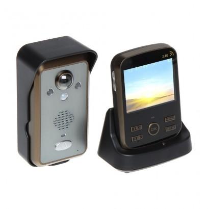 KivosVideointerfon wireless KIVOS KDB302 cu unghi larg de vizualizare