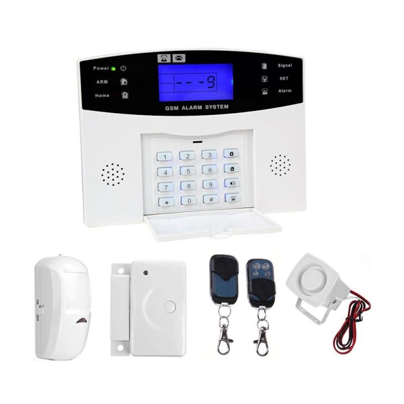 Alarma wireless GSM PG-500 in limba romana