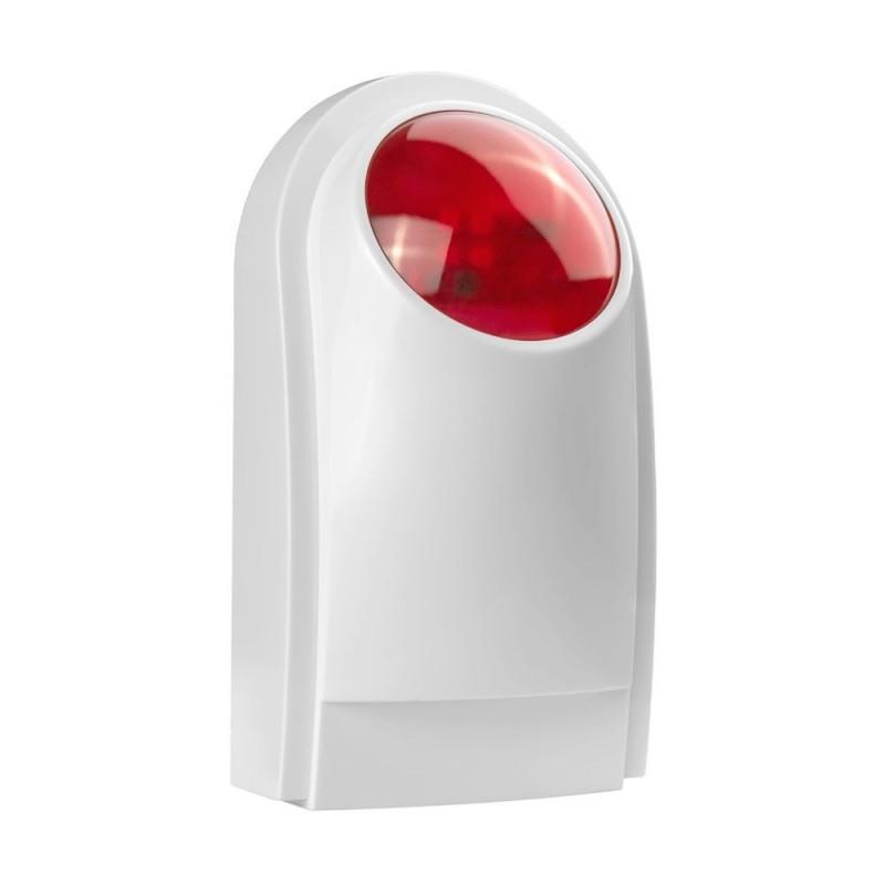 Sirena cu avertizare optica si sonora wireless PE-516