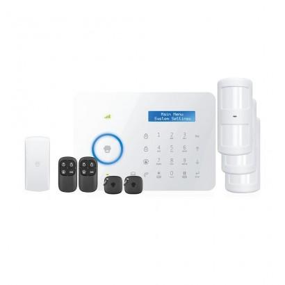 Chuango B11 sistem de alarma wireless dual GSM/PSTN cu 4 zone