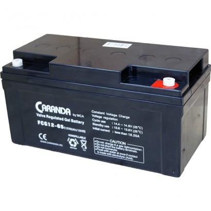 Baterie Gel VRLA Caranda 12V 65A
