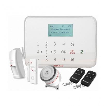 Wolf-GuardWolf-Guard YL-007MT1 Sistem de alarma wireless GSM cu ecran LCD si tastatura tactila